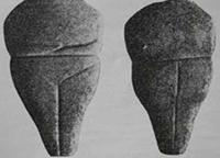 Фиг. 12 – мраморен антропоморфен идол, с.м. Топра Асар, с. Салалии, Пловдив