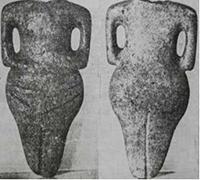 Фиг. 11 – мраморен антропоморфен идол, Нова Загора