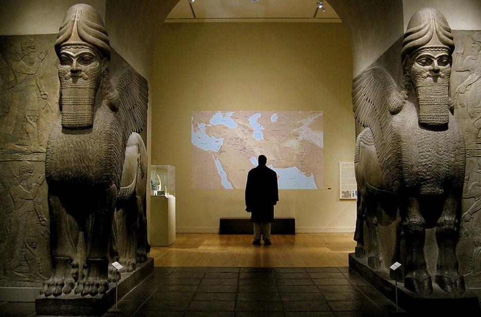 Възстановка на парадната порта на Калху – Метрополитън музеум, Ню Йорк