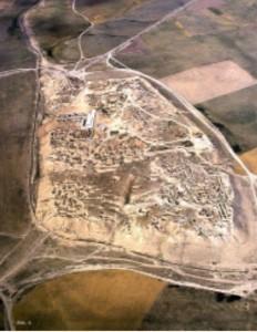 Хълмът Нимруд – древен Калху – въздушна снимка.