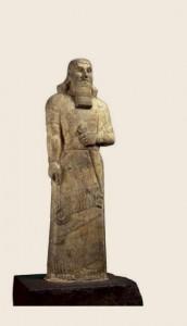 Статуетка на Ашшурназирпал II. Британски музей. Източник: www. britishmuseum.org