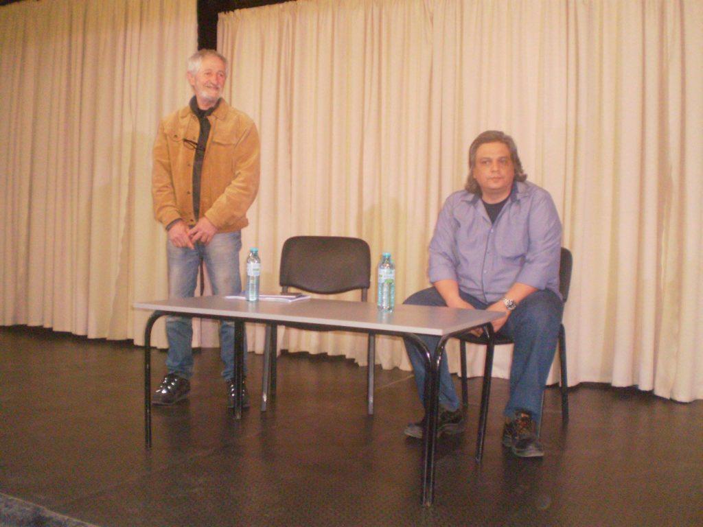Среща с поета Антонин Горчев в Карнобат