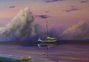 Морето в лилава душа