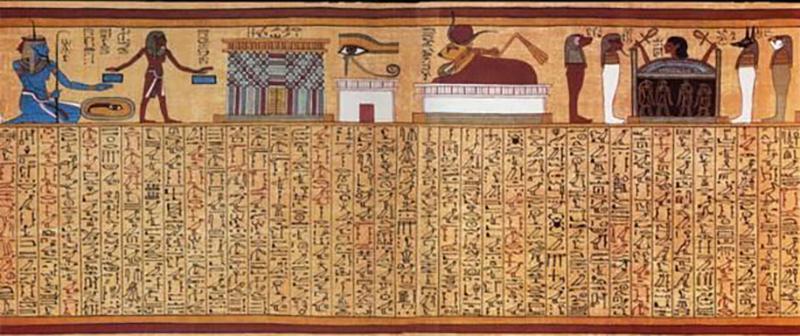 Древен Египет: Първата книга за дишането